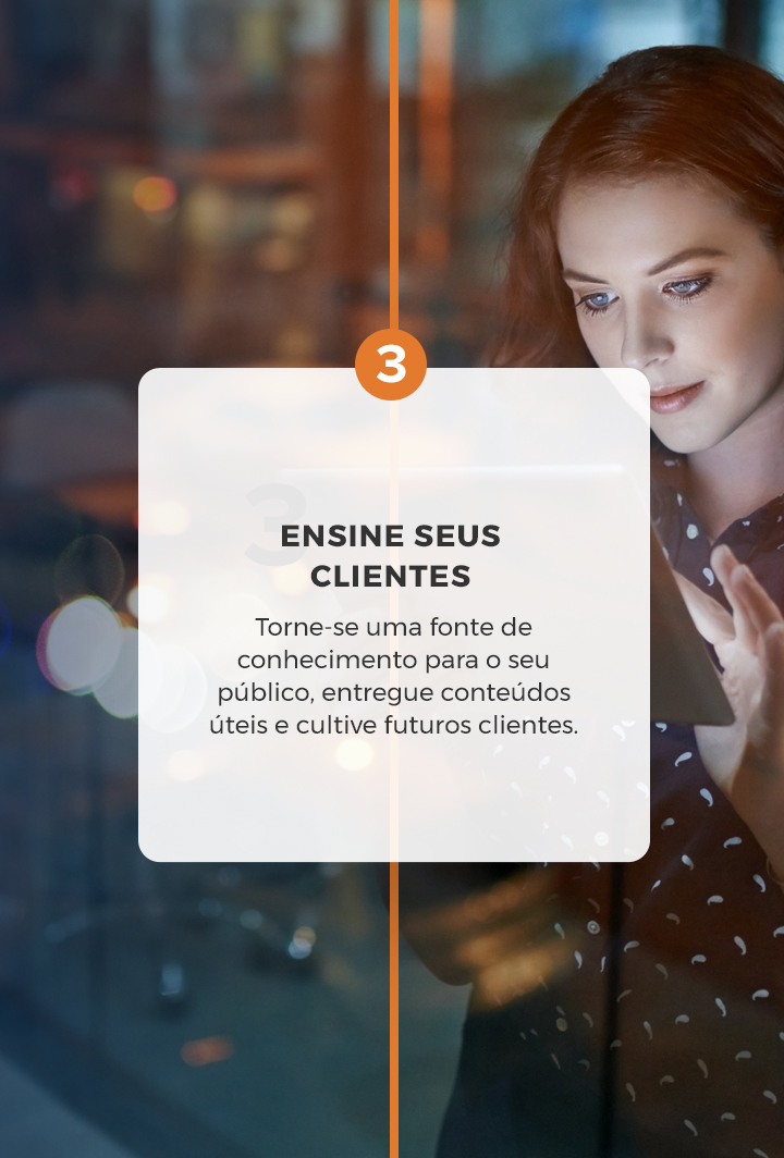 Leelah Agência de Marketing Digital - Ensine seus clientes
